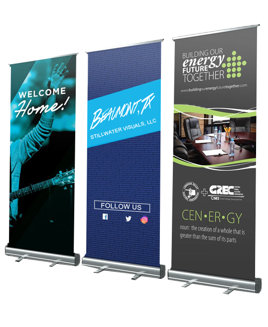 retractable banners beaumont