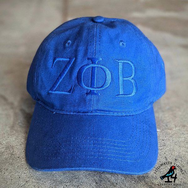 Zeta Phi Beta Cap Hat