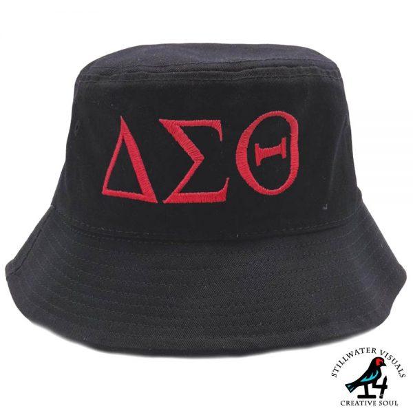 delta sigma theta bucket hat