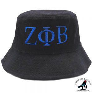 zeta phi beta bucket hat cap