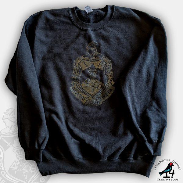 delta sigma theta sweatshirt fleece