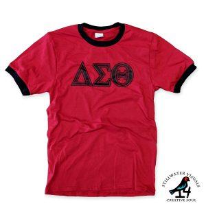 Delta Sigma Theta ringer shirt