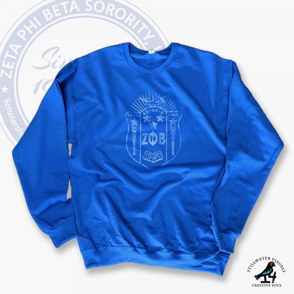 zeta phi beta sweatshirt fleece