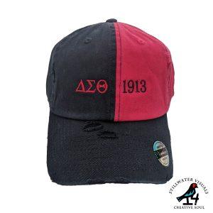 Delta Sigma Theta Cap Hat
